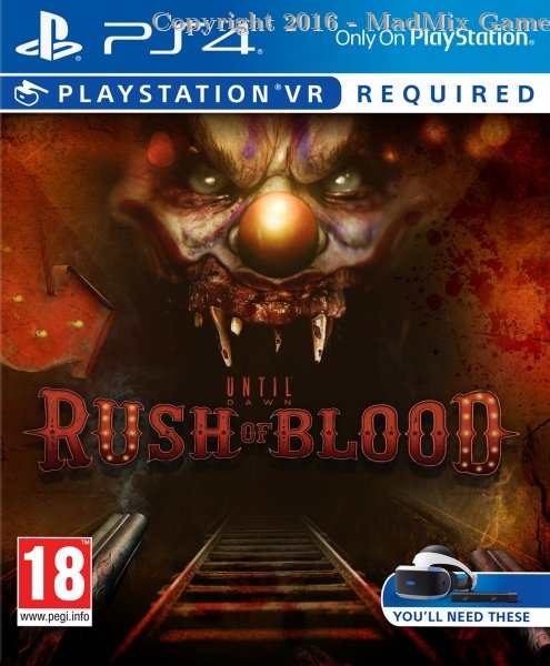 UNTIL DAWN RUSH OF BLOOD (VR) (Reacondicionado)