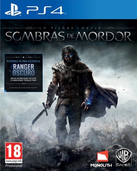 LA TIERRA MEDIA:SOMBRAS DE MORDOR (reacondicionado)