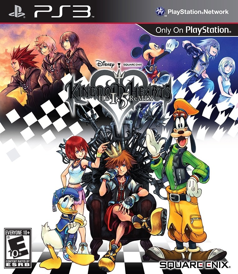KINGDOM HEARTS...
