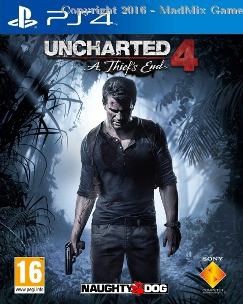 UNCHARTED 4 + Caja Metál. (Reacondicionado)