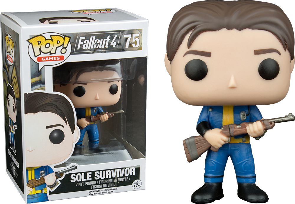 SOLE SURVIVOR VAULT DWELLER FIG.10 CM VINYL POP FALLOUT 4 (NUEVO)
