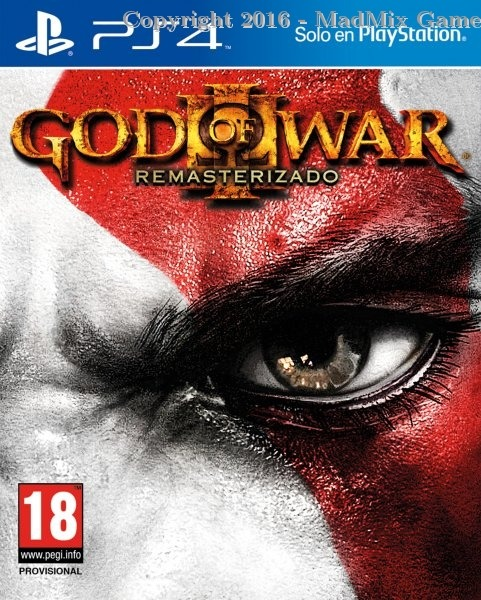 GOD OF WAR III REMASTERIZADO (Reacondicionado)