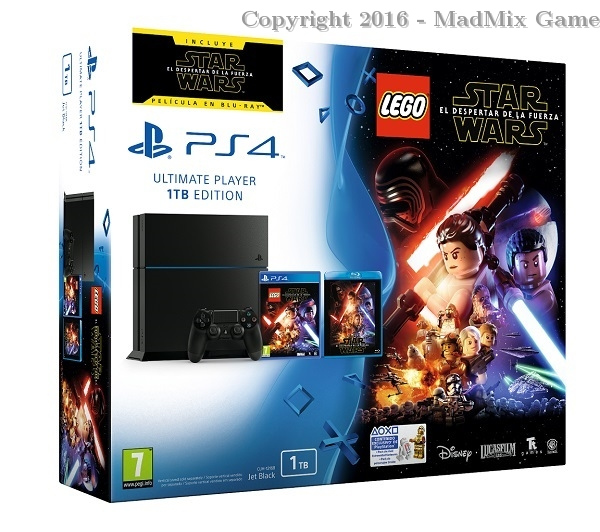 1 TB BLACK + LEGO STAR WARS : DESPERTAR FUERZA + BLU-RAY
