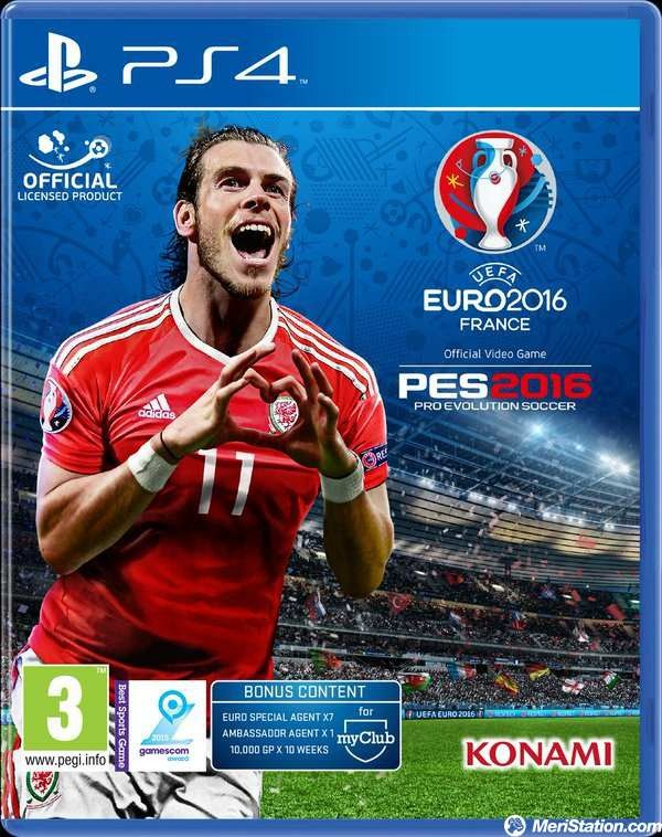 PES 2016 UEFA EURO 2016 FRANCE (Reacondicionado)