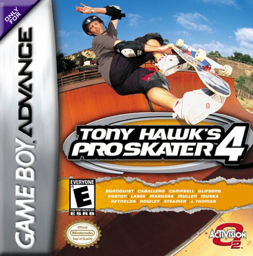 TONY HAWK'S PRO SKATER 4 (RE-ACTIVATE)