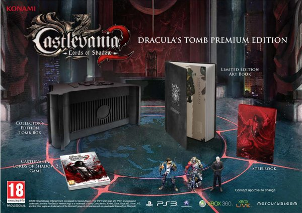 CASTLEVANIA:LORDS OF SHADOW 2 COLLECTORS EDITION