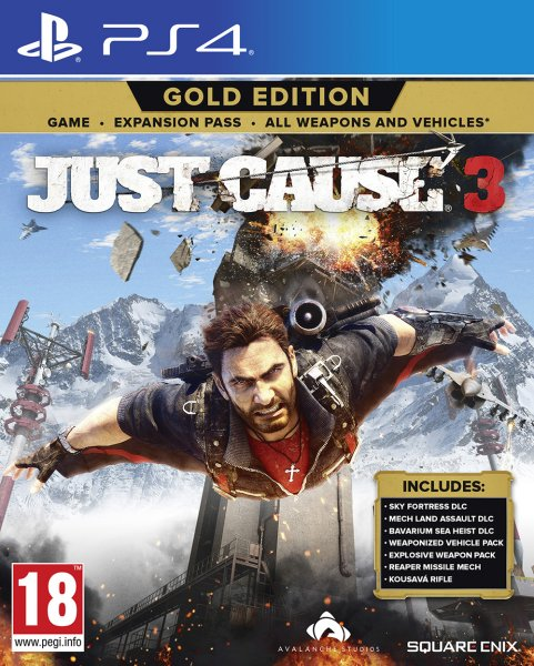 JUST CAUSE 3 GOLD ED...
