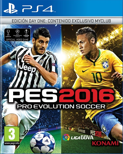PES 2016  (Reacondic...