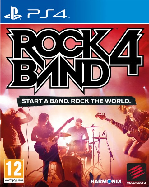 Detalles de ROCK BAND 4