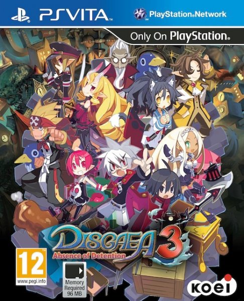 Detalles de DISGAEA 3:ABSENCE OF...