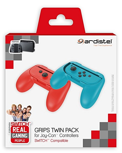 ARDISTEL GRIPS X2 TWIN PACK FOR JOY-CON CONTROLLERS