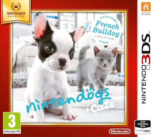 NINTENDOGS + GATOS: BULLDOG (Reacondicionado)