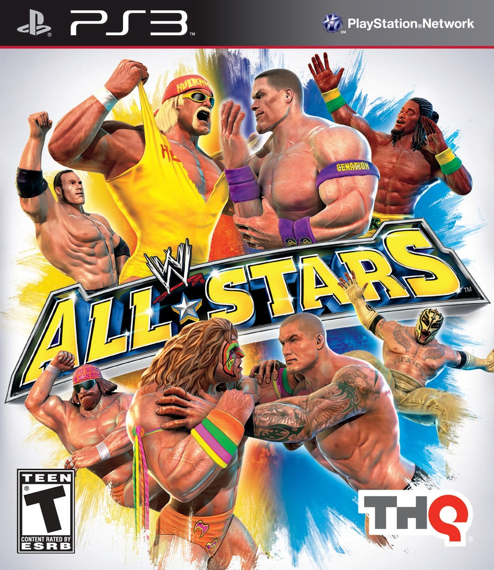 WWE ALL STARS (Reaco...